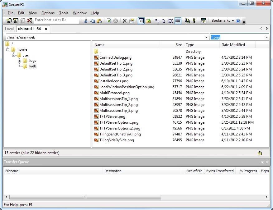 ftp, sftp, secure ftp, ssh, ssh2, secure shell, secure, transfer, file transfer, securefx, van dyke, windows